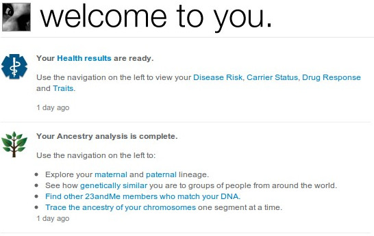 23andme - yes, me - part 3 (1/5)